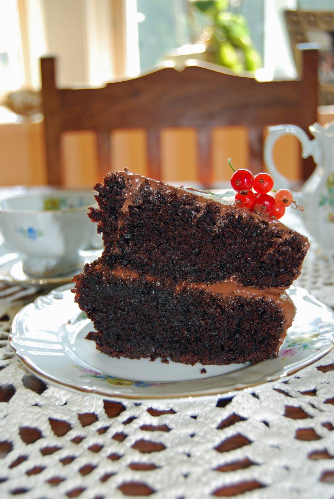 kake med sjokolade