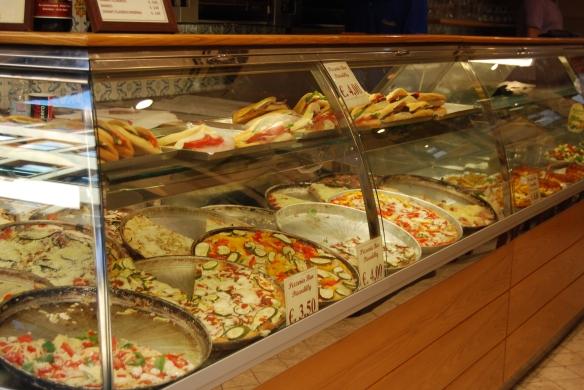 Pizza og andre godsaker